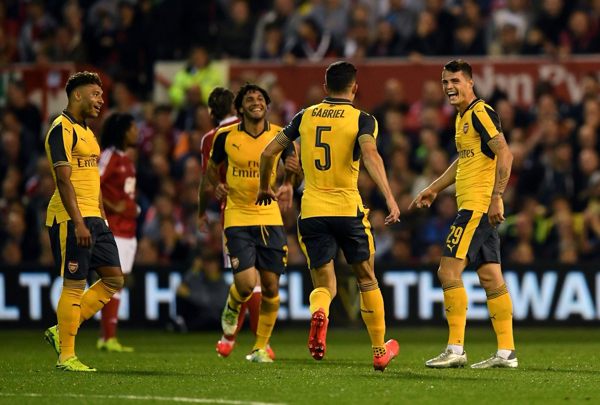 Nottingham Forest 0-4 Arsenal