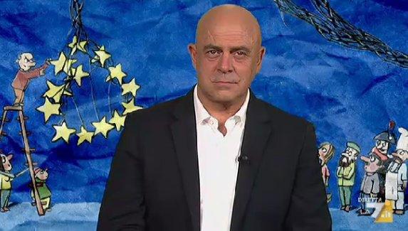 VIDEO Copertina diMartedì Crozza 20/09: Renzi Merkel Salvini Poletti e i Voucher