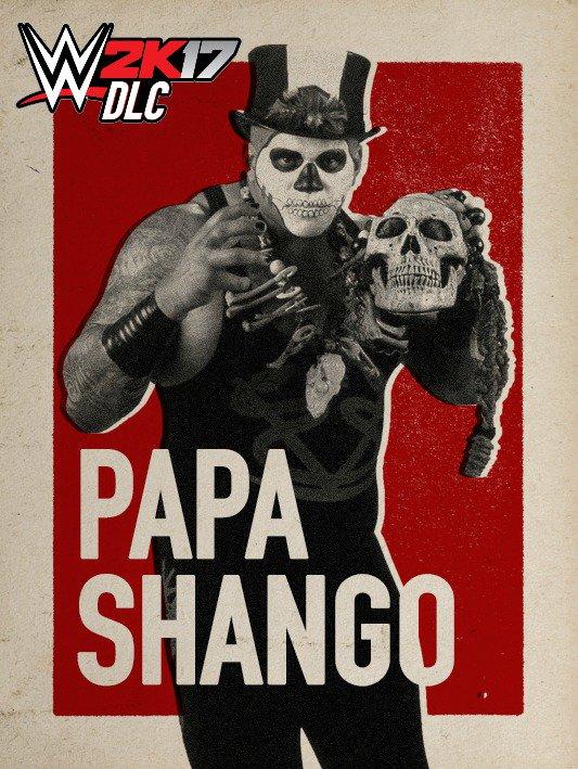 WWE 2K17 DLC Papa Shango