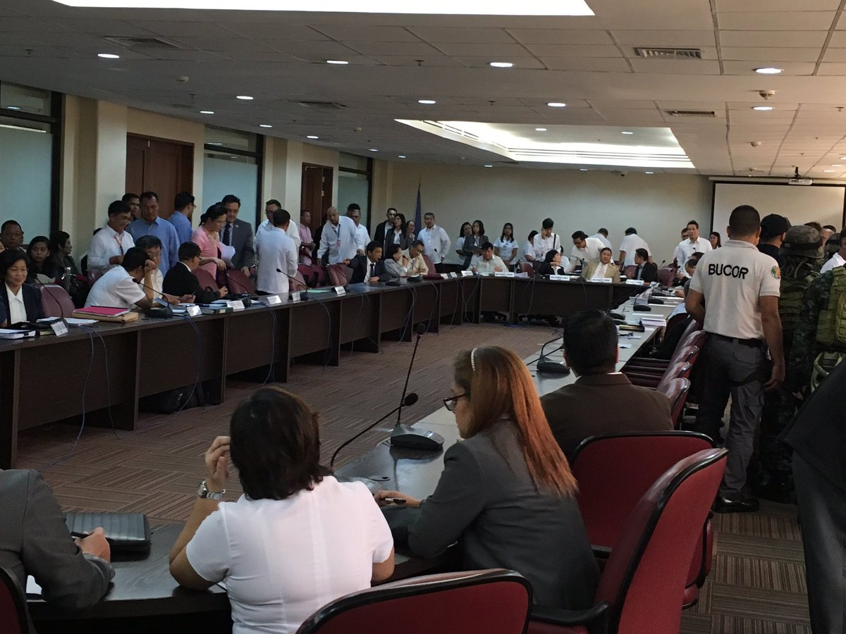 The hearing on the New Bilibid Prisons drug trade resumes today at the Batasan Pambansa. The focus of the broadcast aspect will be on News5, who only covered the hearings online last September 20-21. (Photo credit: Roices Naguit)