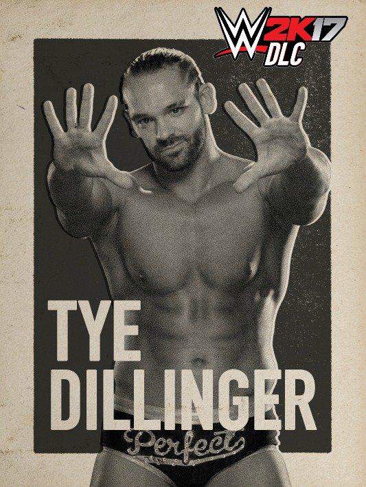 WWE 2K17 DLC Tye Dillinger NXT