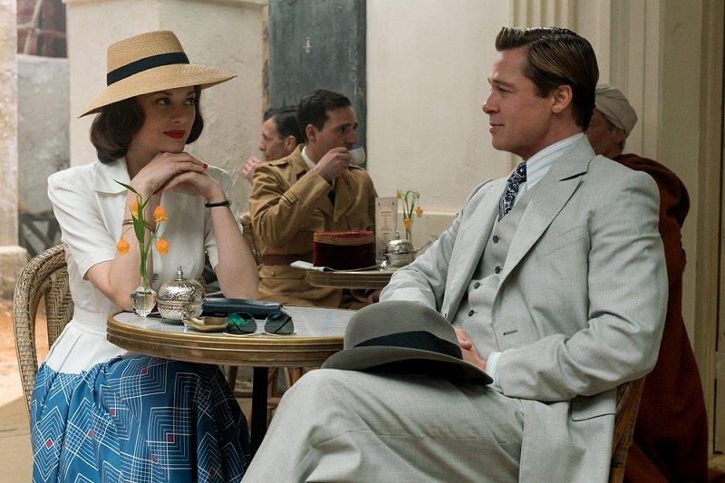 """Brad Pitt e Marion Cotillard si sposano nel film """"Allied - Un'ombra nascosta"""""""