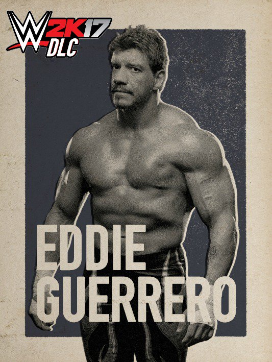 WWE 2K17 DLC Eddie Guerrero
