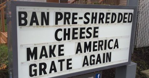 "This still makes me laugh more than it should.. ""Make America Grate Again"" https://t.co/Uc9wlDomtx"