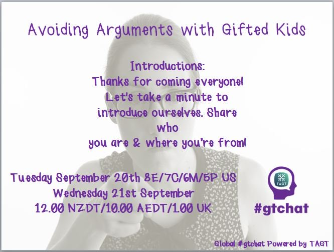 Thumbnail for #gtchat: Avoiding Arguments with Gifted Kids