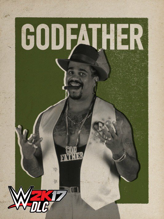 WWE 2K17 DLC The Godfather