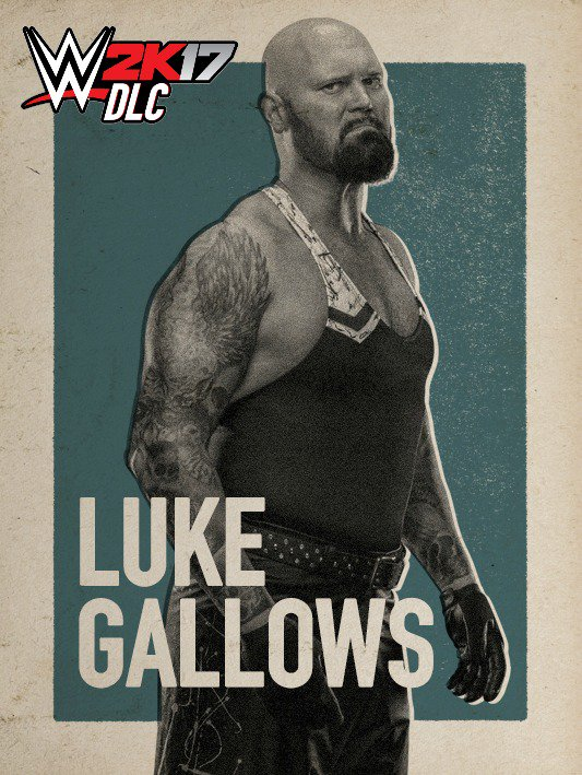 WWE 2K17 DLC Luke Gallows