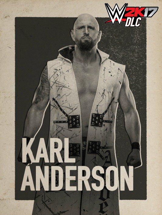 WWE 2K17 DLC Karl Anderson