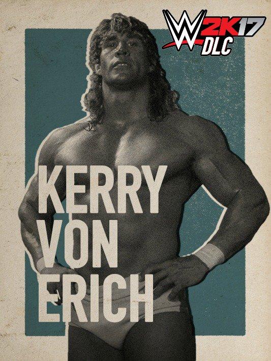WWE 2K17 DLC Kerry Von Erich
