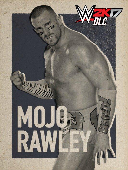 WWE 2K17 DLC Mojo Rawley
