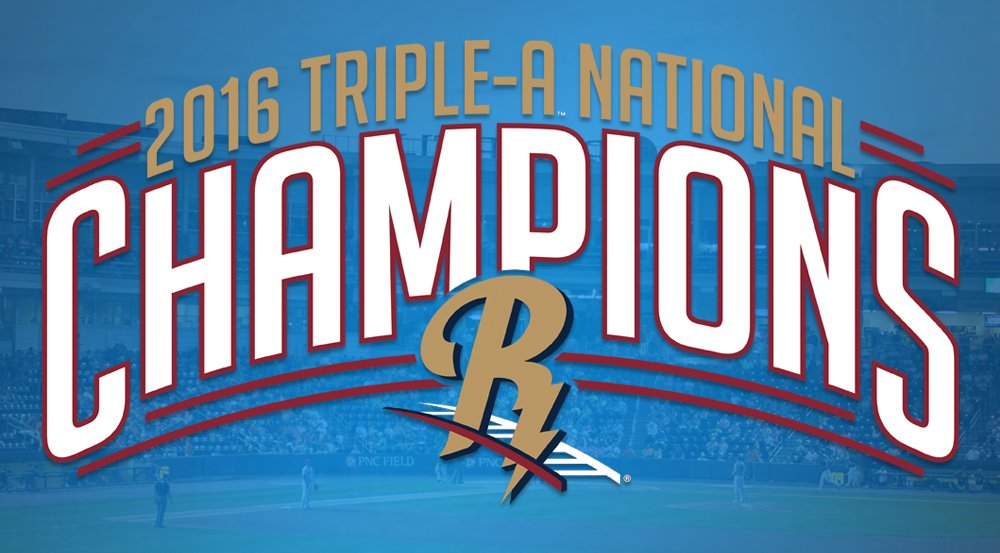 2016 Triple-A National Champions! #GoRailRiders #Yankees https://t.co/mPMguGAOR6