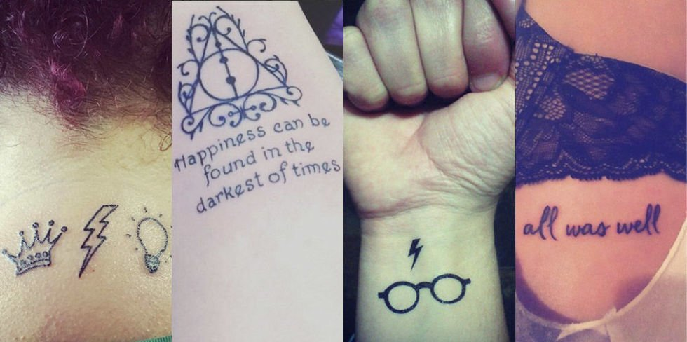 Seventeen On Twitter Here Are 18 Magical Harry Potter Tattoos