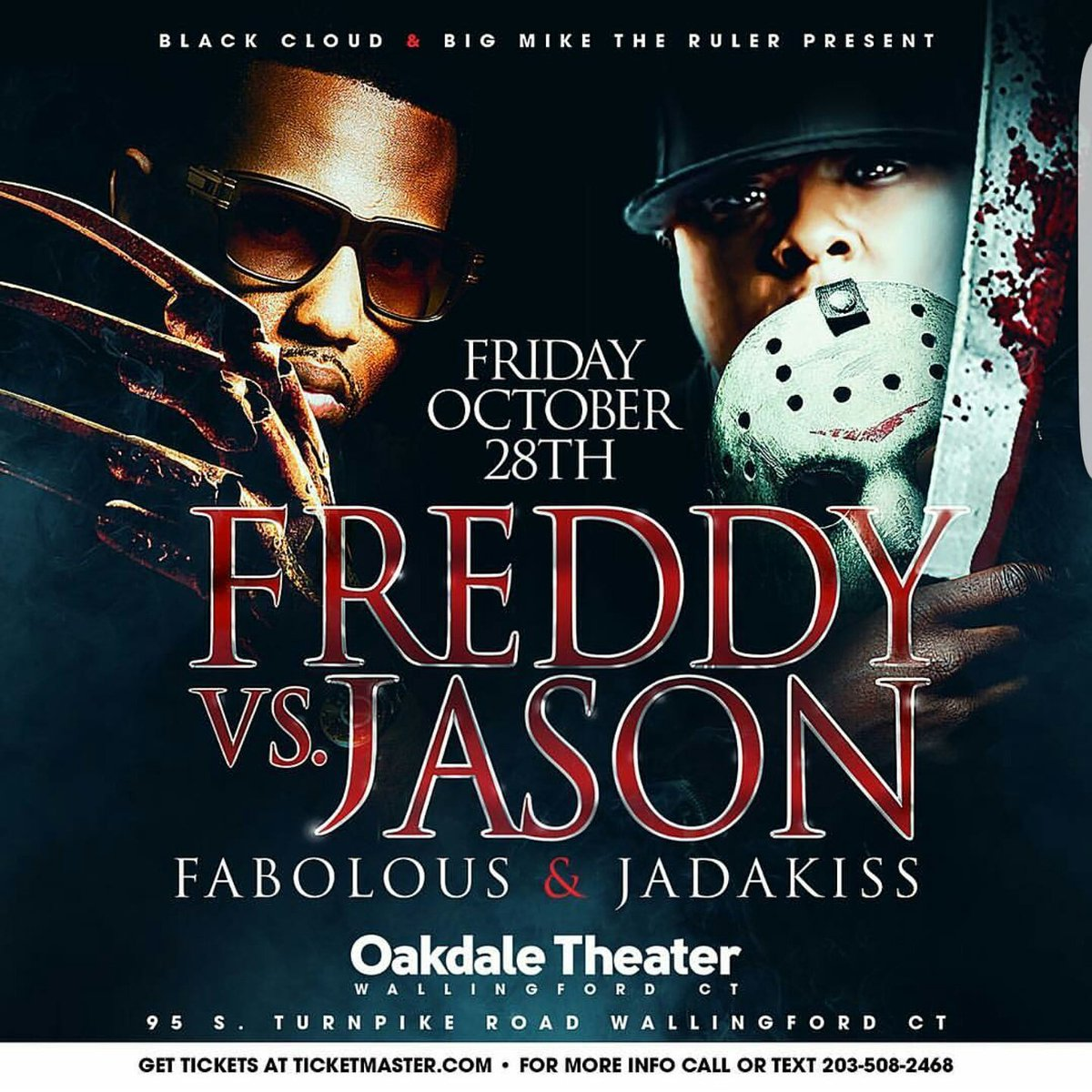 This concert is gona be insane!!!  @myfabolouslife n @Therealkiss at the Oakdale Theater in Wallingford Ct Oct 28 https://t.co/gZmTU4KQQU