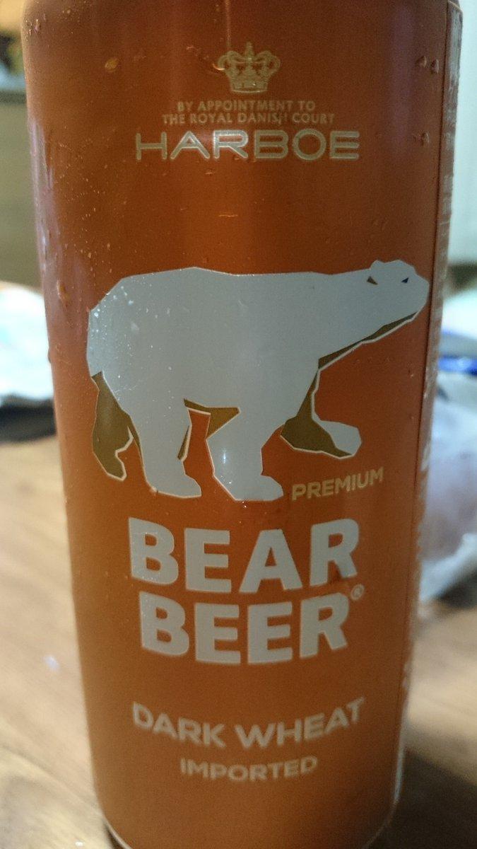 ほら。かわいいビール。 これ甘い。 https://t.co/42KmF29s7i