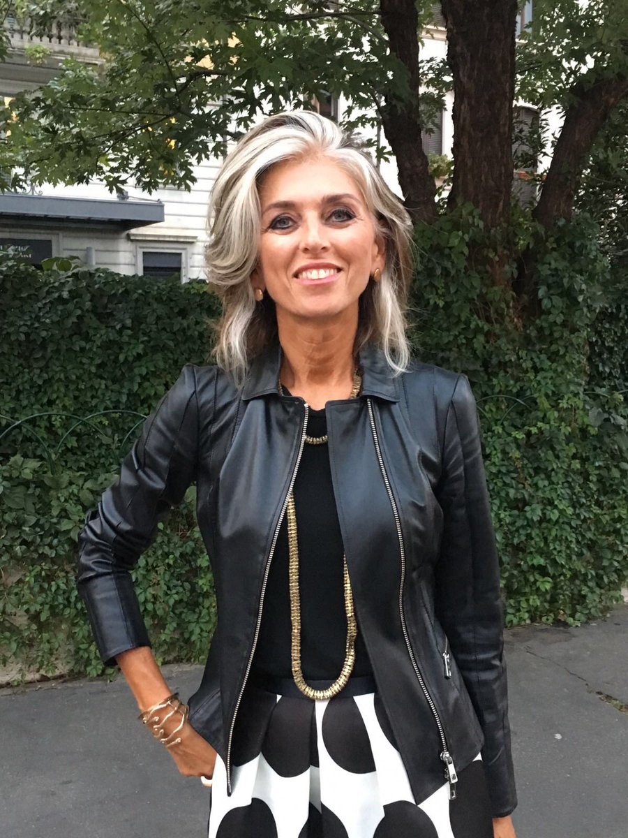 Paola marella on twitter leather jacket benvenuto for Marella paola