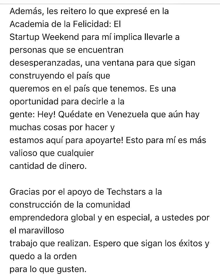 #TSLatamSummit @techstars @StartupWeekend https://t.co/TCd8igeWc6