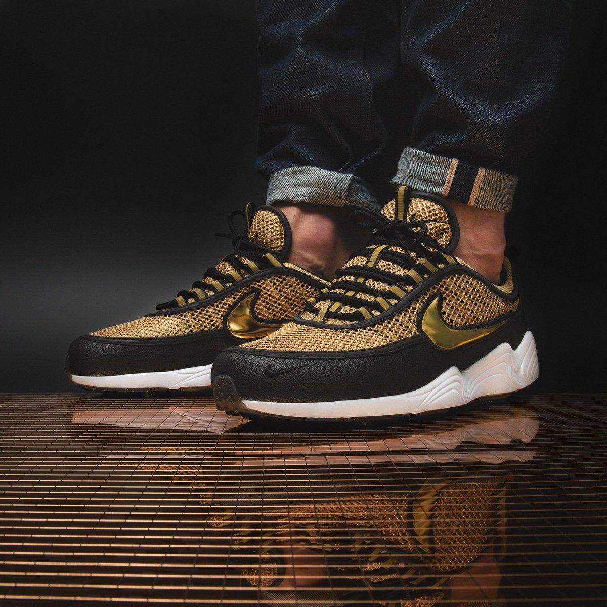 Nike Air Zoom Spiridon 'Metallic Gold' (schwarz gold