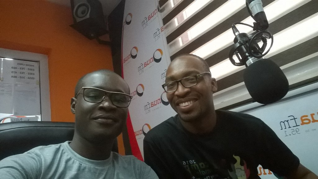 On @Onua95.1fm speaking about #NVDay16 with @Abocco https://t.co/6cAOazDGtG