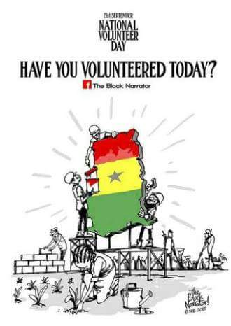 Have you volunteered today? If not join the rotary club of Ho at the Volta Regional Hosp. now to clean up. #NVDay16 https://t.co/3hUhPjoDcj