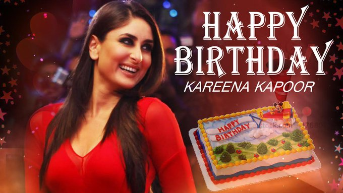 to the Beautiful Kareena Kapoor Khan  Hope you have an amazing year ahead!   Happy Birthday Kareena