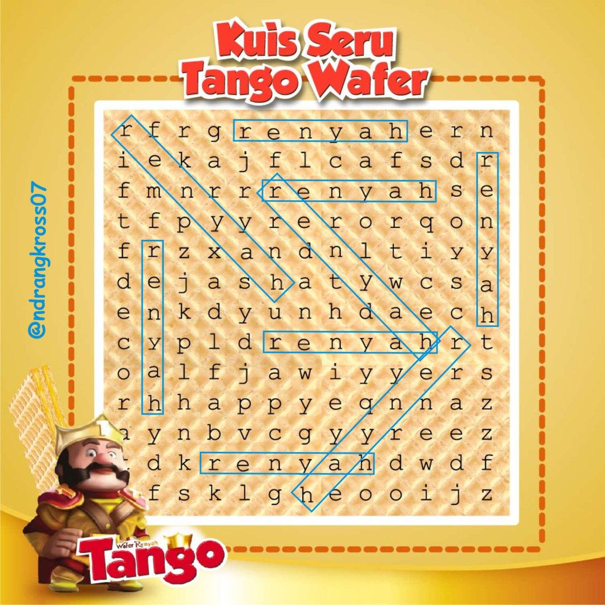 Wafer Tango Renyah On Twitter Kuisserutangowafer Ada Berapa Tanggo 0 Replies Retweets 1 Like