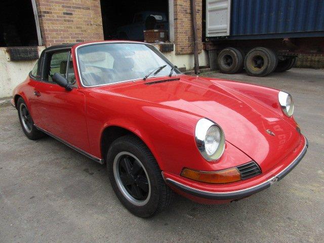 1971 Porsche 911 Targa ex Texas