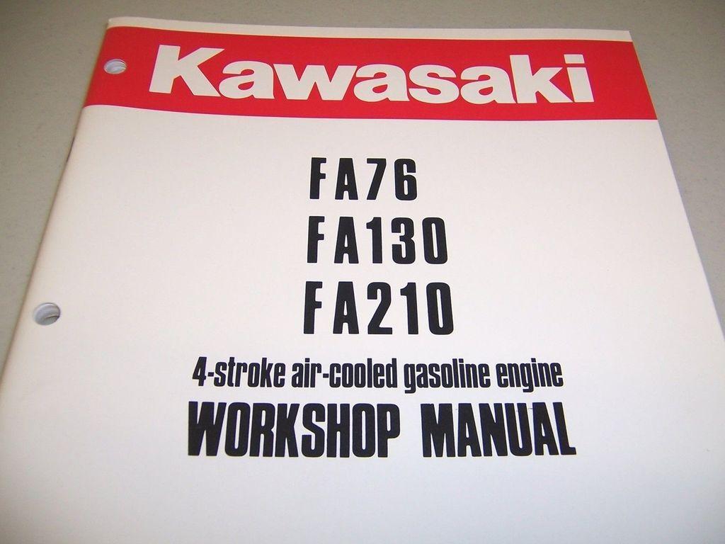 Kawasaki fa130 Manual