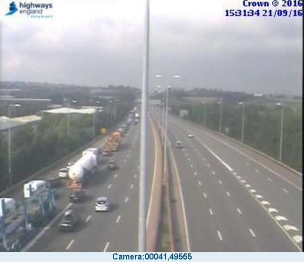 #Devon  Allow extra journey time on the #M5 n/bound, near #Exeter.  #M5 closed, J29 - J28, due to an accident. https://t.co/fQyRq3IzSP