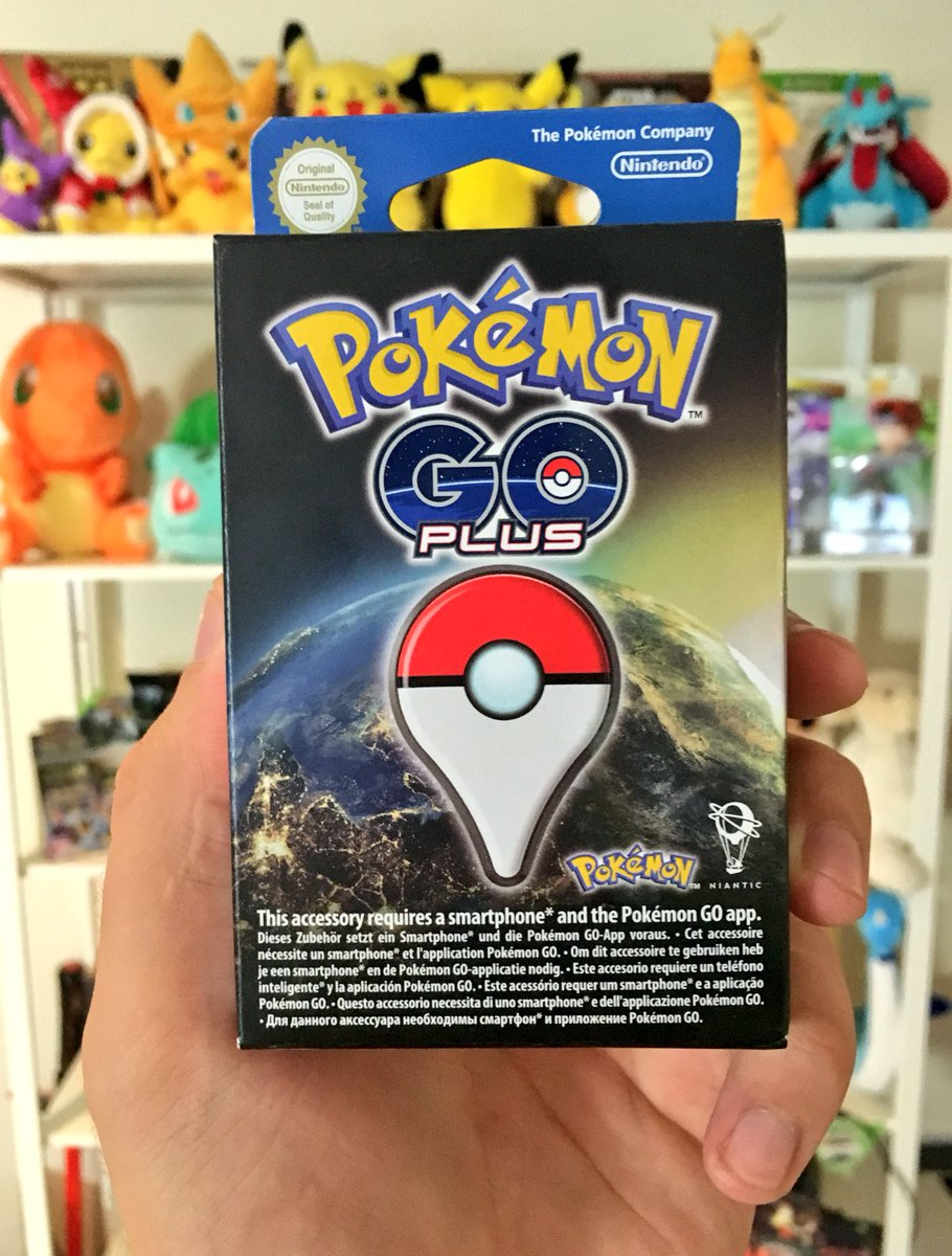 I have a #PokemonGO PLUS to giveaway to one of YOU! 😍🙌🏻 Just RETWEET + FOLLOW for a chance to win. Good luck! 💙