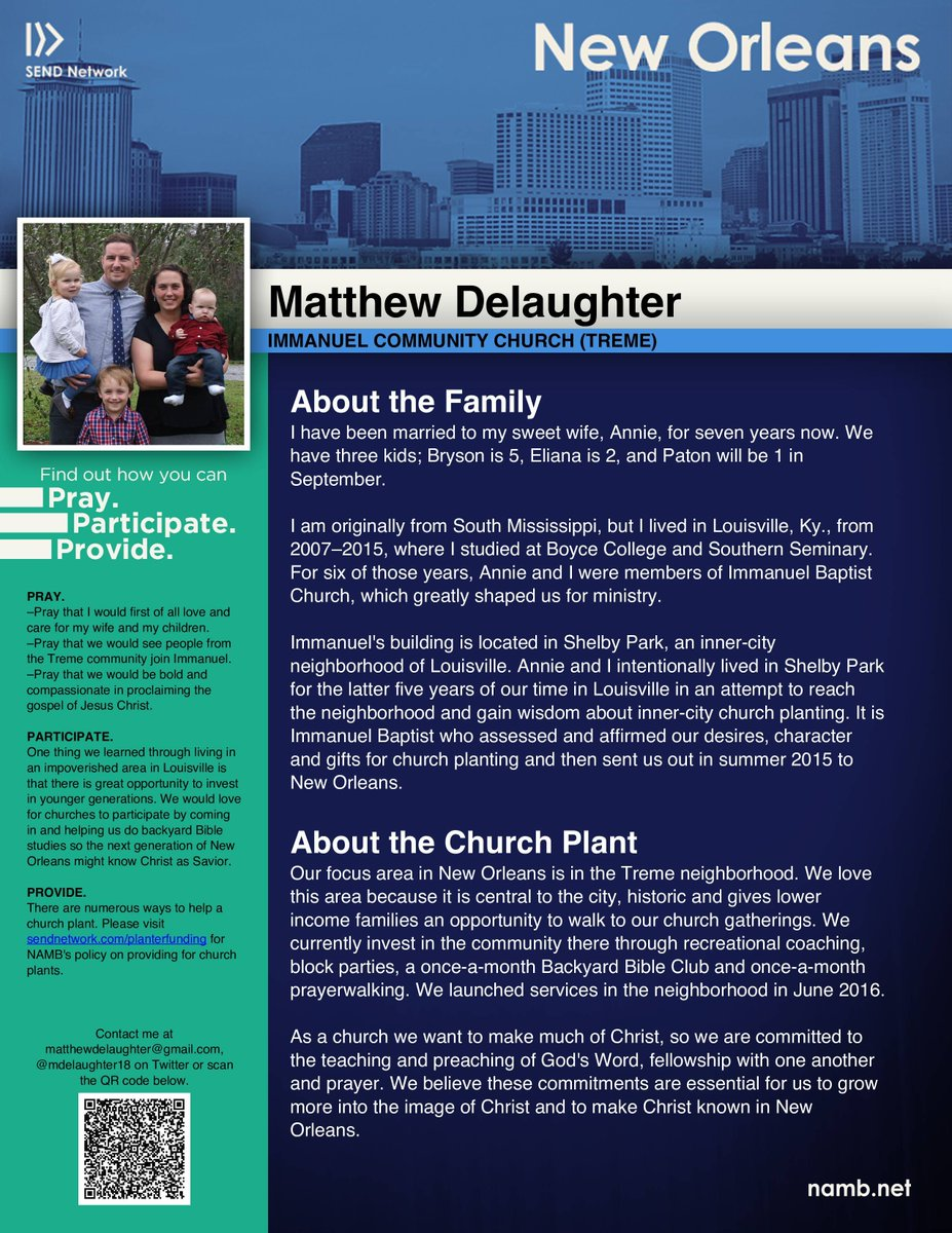 New Orleans What Do We Do Now We Focus >> Send New Orleans On Twitter Pray For Planter Matthew