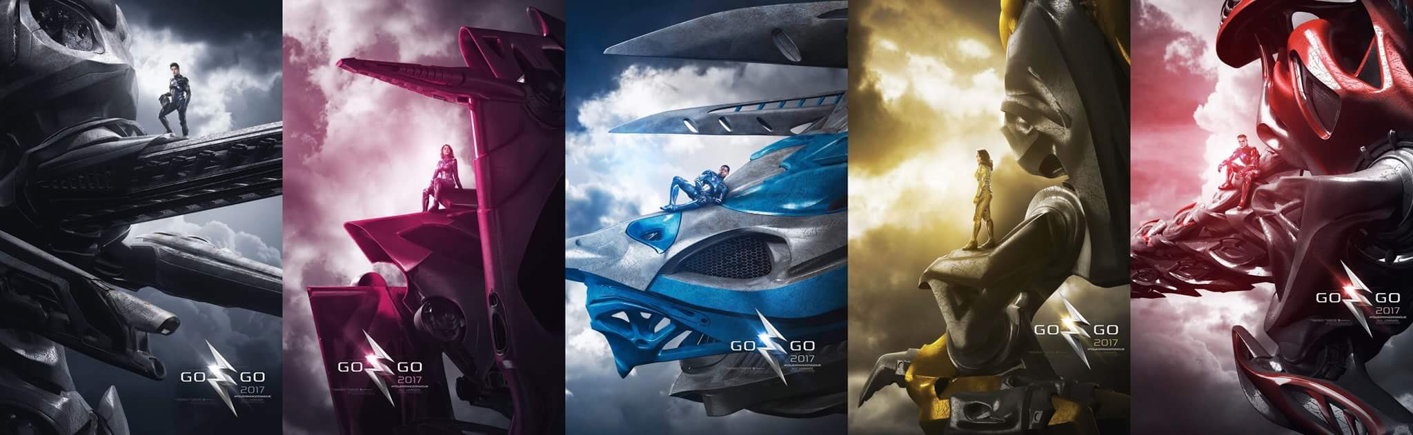 Power Rangers Character Posters Unveiled 1