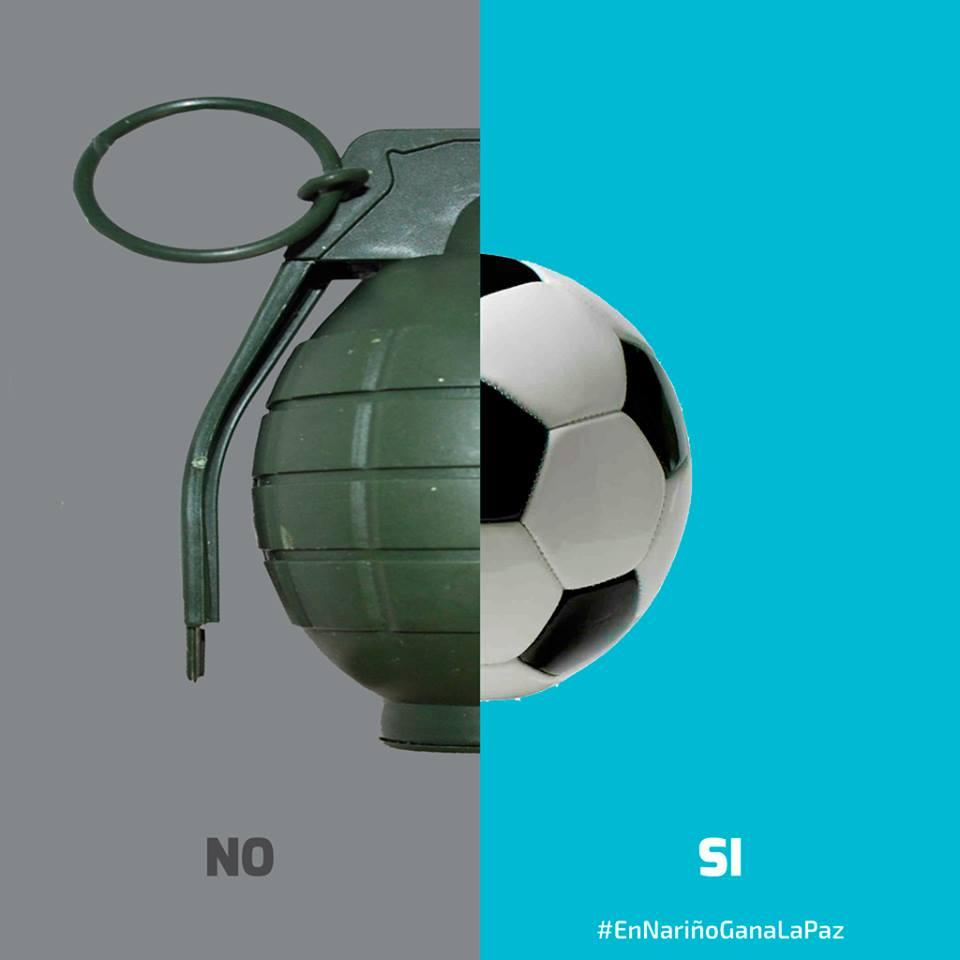 Genial campaña de los amigos de Nariño para la paz en Colombia  #EnNariñoGanaLaPaz https://t.co/j6j6Fu6jmz