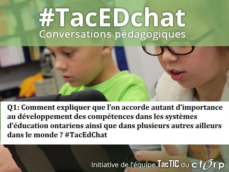 Voici la question Q1, c'est partie #TacEdChat https://t.co/BIz9WYT4iI
