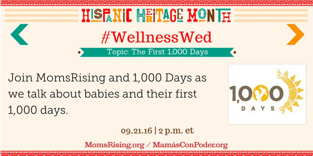 Thumbnail for #WellnessWed: The First 1,000 Days