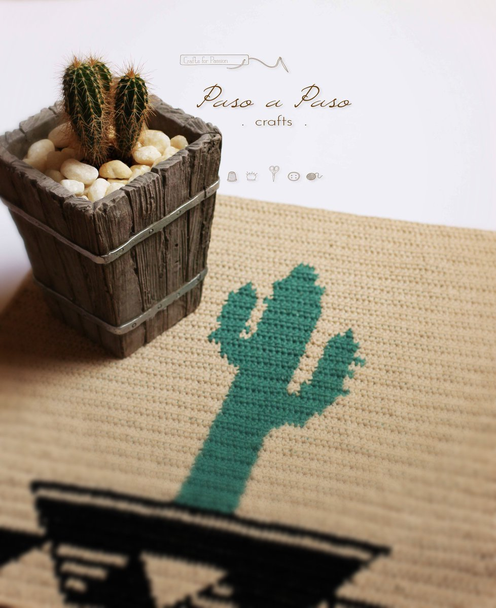 Crochet Cactus In A Cup - Free Pattern! - Paper and Landscapes | 1200x978