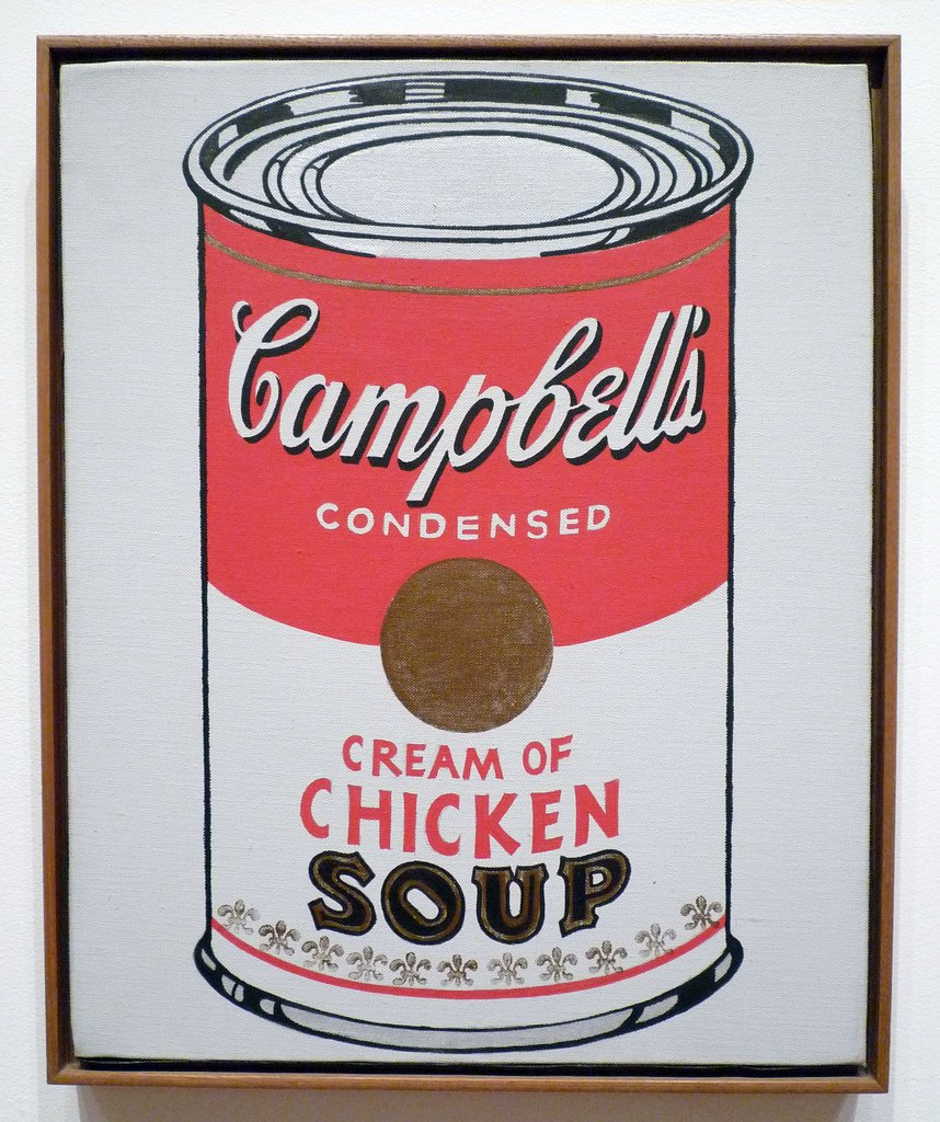 andy warhol campbell's soup - HD858×1024