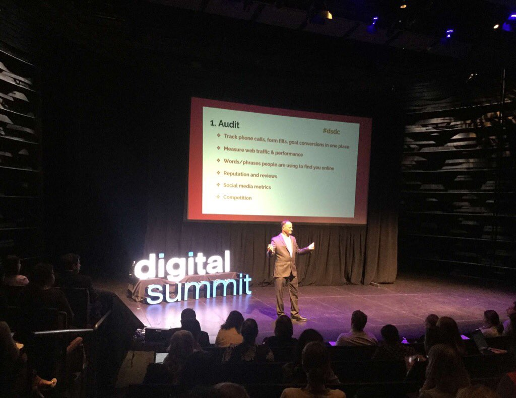 @DSDC sharing marketing ROI basics. Would love to see live examples from #Surefiresocial soon. Good concepts.#DSDC https://t.co/kThDni608O