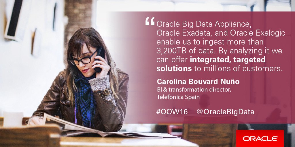 Don't miss @AaliMasood's #oow16 session w/ #OracleCustomers: driving value with #BigData  http:// ora.cl/3kW2     <br>http://pic.twitter.com/SoUiSbPcAZ