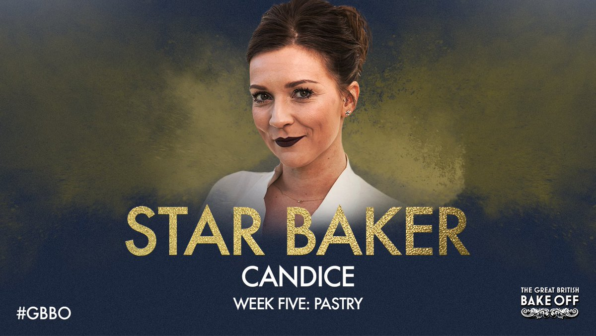 Candice Pastryweek 'S Star Baker : master squeezer Candice ...