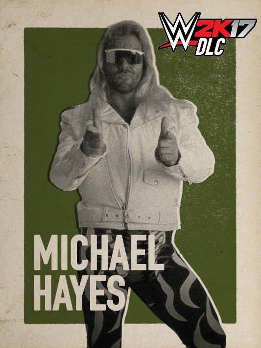 WWE 2K17 DLC Michael Hayes Fabulous Freebirds