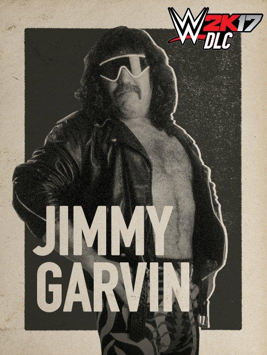 WWE 2K17 DLC Jimmy Garvin Fabulous Freebirds