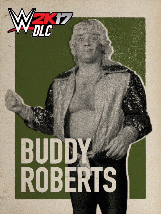 WWE 2K17 DLC Buddy Roberts Fabulous Freebirds