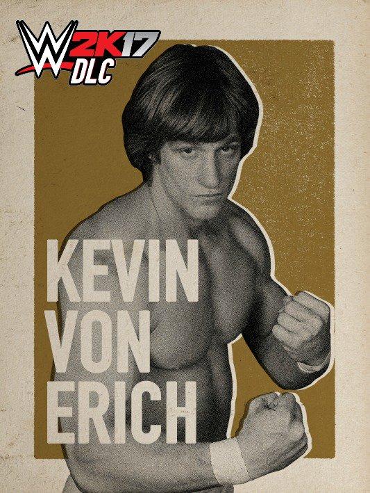 WWE 2K17 DLC Kevin Von Erich
