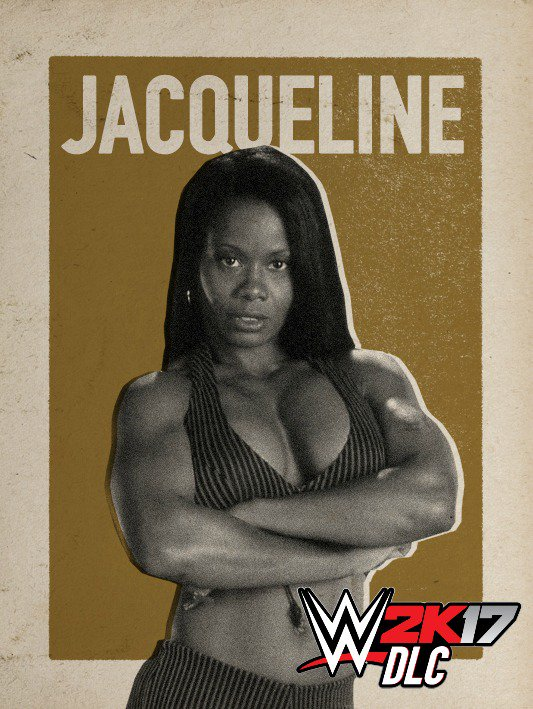 WWE 2K17 DLC Jacqueline