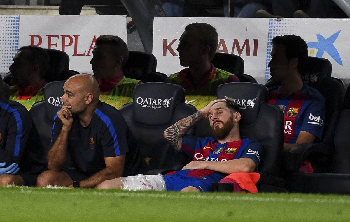 Mal pronóstico para la lesión de Messi por forzar con Argentina