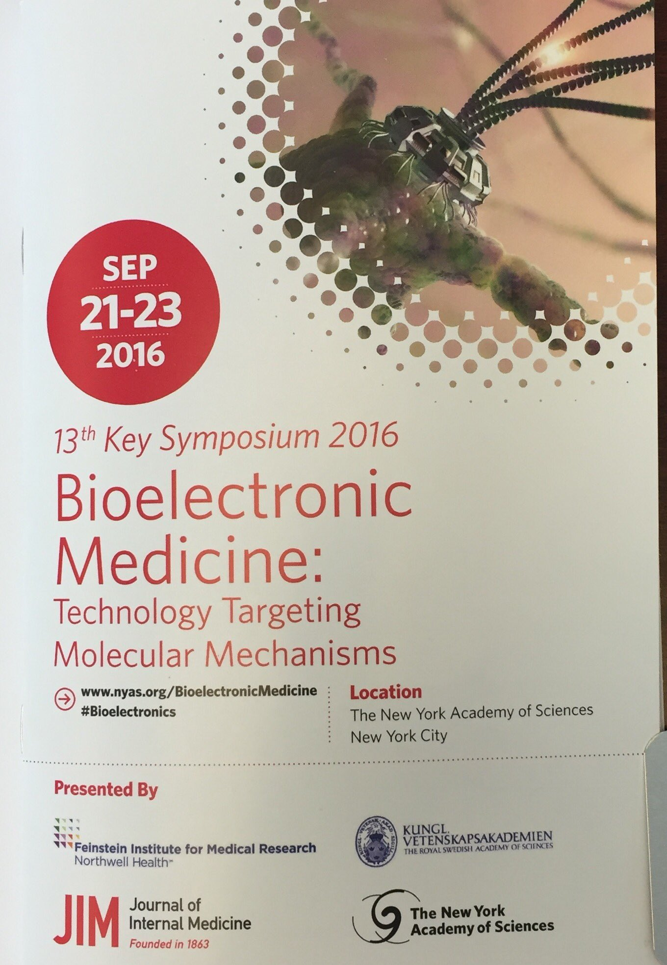 Welcome to #Bioelectronics meeting @NYASciences! https://t.co/VJYIhW3ZWS