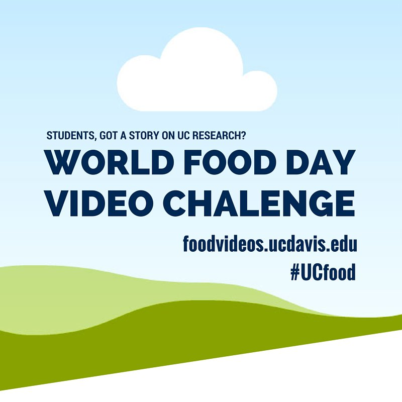 We're down to the final hours of our Video Challenge: Render>upload>submit! https://t.co/N25gO7RKpH #UCfood https://t.co/V9ChHRupZ6