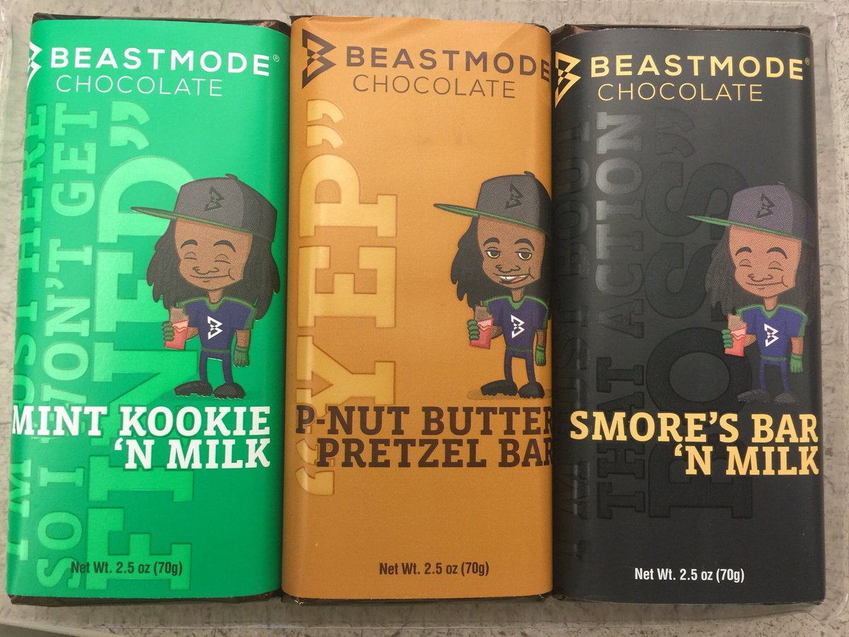 7414bf0efced4 marshawn lynch launches beastmode candy division starts with chocolate