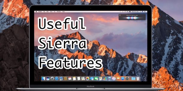 7 of the Best macOS Sierra Features  That You'll Actually Use  https://t.co/g6eFnsWFgx ~ @osxdaily https://t.co/fG72ytGrc3