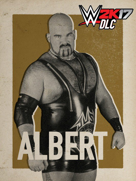 WWE 2K17 DLC Albert